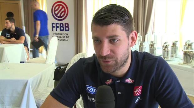 Basket : FIBA - Bleus - Diot évoque l'atmosphère hostile