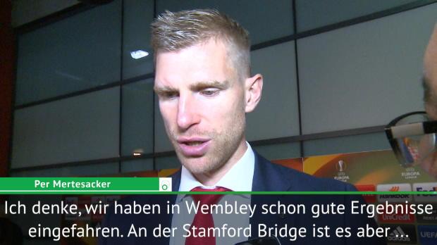 Mertesacker: Respekt vor der Stamford Bridge