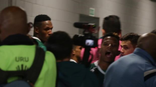 Copa Libertadores - Los incidentes en el vestuario del Palmeiras