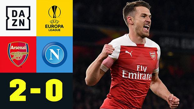 UEFA Europa League: Arsenal - Neapel | DAZN Highlights