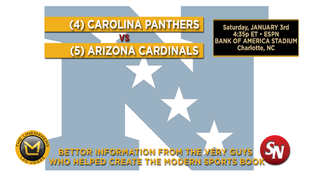 Arizona Cardinals @ Carolina Panthers