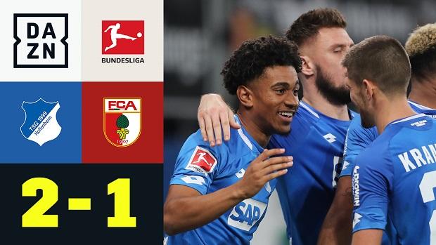 Bundesliga: TSG Hoffenheim - FC Augsburg   DAZN Highlights