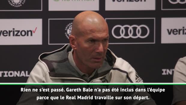 Transferts - Zidane - 'Le Real travaille sur le départ de Bale'