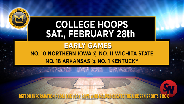 Saturday college hoops - early games