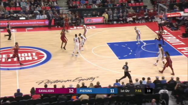 GAME RECAP: Cavaliers 116, Pistons 88