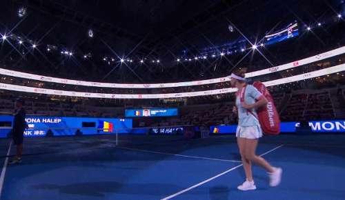 Zhang v Halep Highlights: WTA Beijing 3R