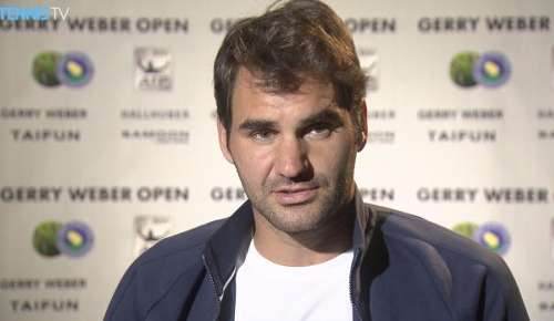 Federer Interview: ATP Halle QF