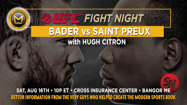 UFC Fight Night Bader v St. Preux