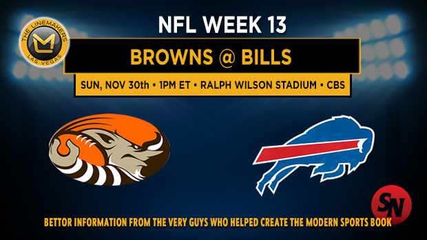 Cleveland Browns @ Buffalo Bills