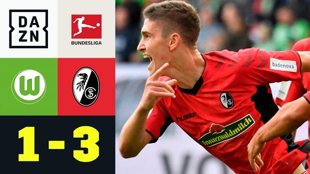 Bundesliga: VfL Wolfsburg - SC Freiburg | DAZN Highlights