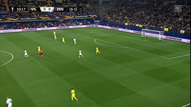 UEFA Europa League: Villarreal - Zenit | DAZN Highlights