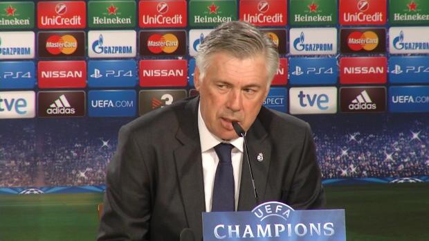 Groupe B - Ancelotti - 'Tout le monde �tait nerveux'