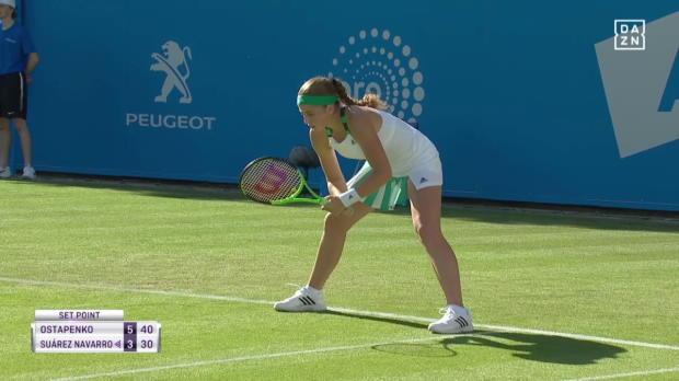 WTA: Ostapenko trotz Verletzung weiter