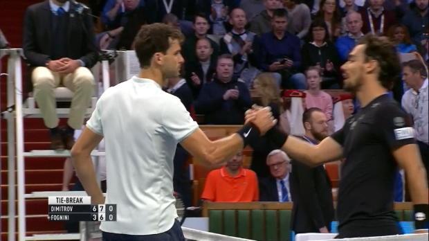 Tennis : Stockholm - Dimitrov éteint Fognini