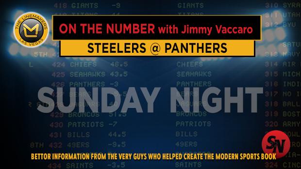 Jimmy V on Steelers @ Panthers