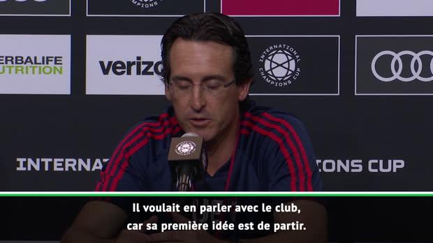 Transferts - Emery confirme la priorité de Koscielny - 'Il veut quitter le club'