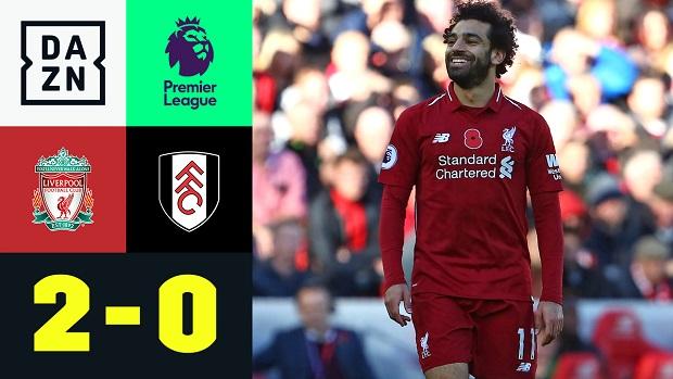 Premier League: Liverpool - Fulham   DAZN Highlights