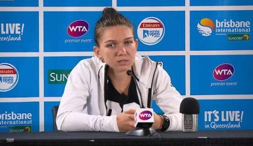 Halep Interview: WTA Brisbane