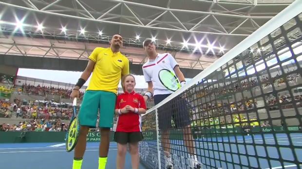 Davis Cup - Tag 3: Australien - USA