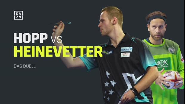 Max Hopp vs. Silvio Heinevetter – Das Duell