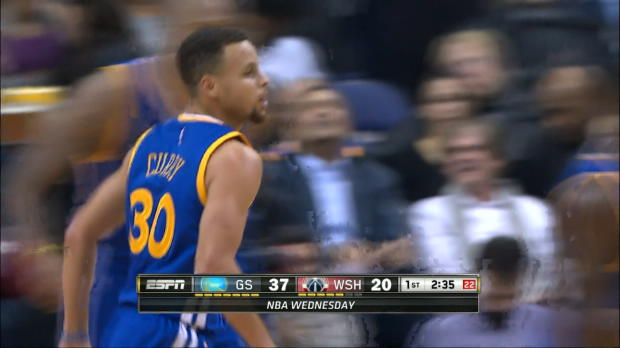 Basket : NBA - Les Warriors enchainent avec un Curry en folie