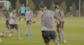Socceroos skipper Mile Jedinak says the team will look to stamp their authority against Kyrgyzstan in Bishkek.