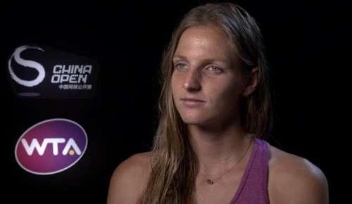 Pliskova Interview: WTA Beijing 2R