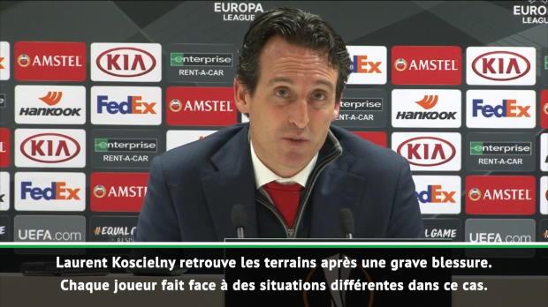 Arsenal - Emery - 'Koscielny doit maintenant gagner en confiance'