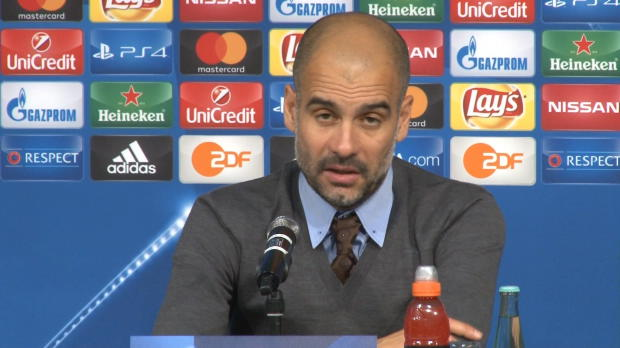 """Guardiola: """"Zum Glück nicht gegen Bayern"""""""