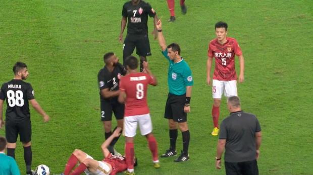 AFC-CL: Salmeen sieht rot und rastet aus
