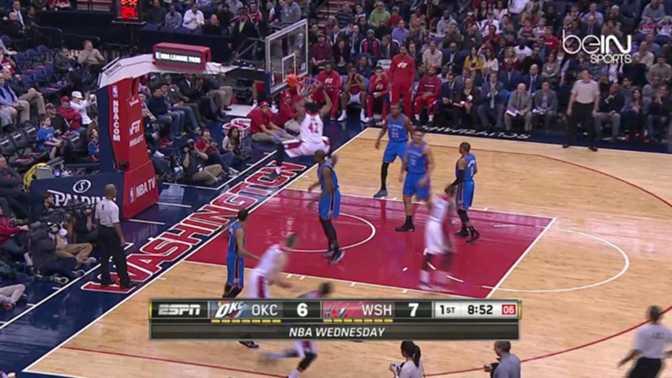 NBA : Westbrook sauve le Thunder contre les Wizards