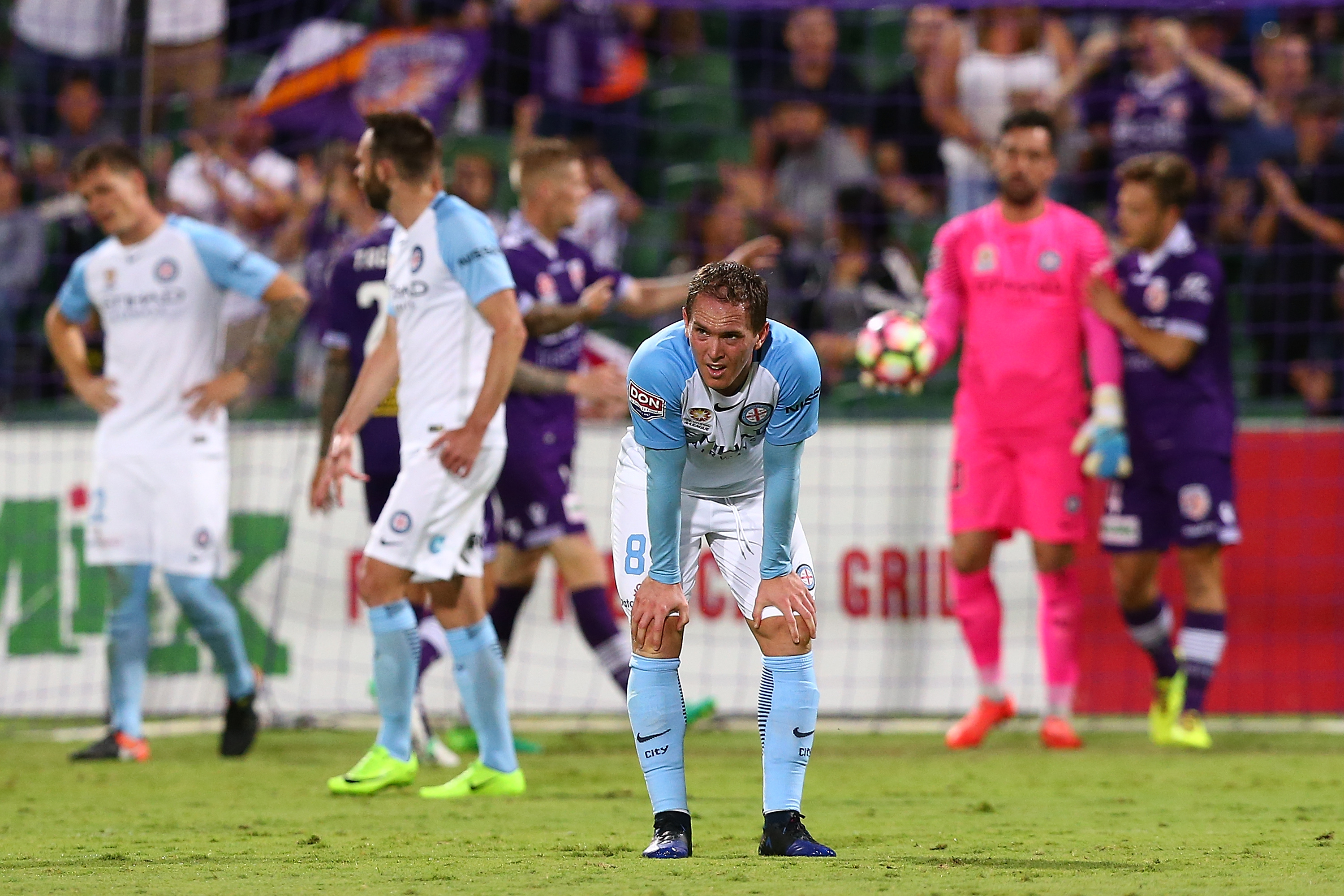 We saw one of the games of the season in rd 27, as Perth Glory beat Melbourne City 5-4 at nib.