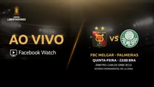 Facebook - Melgar x Palmeiras - Libertadores