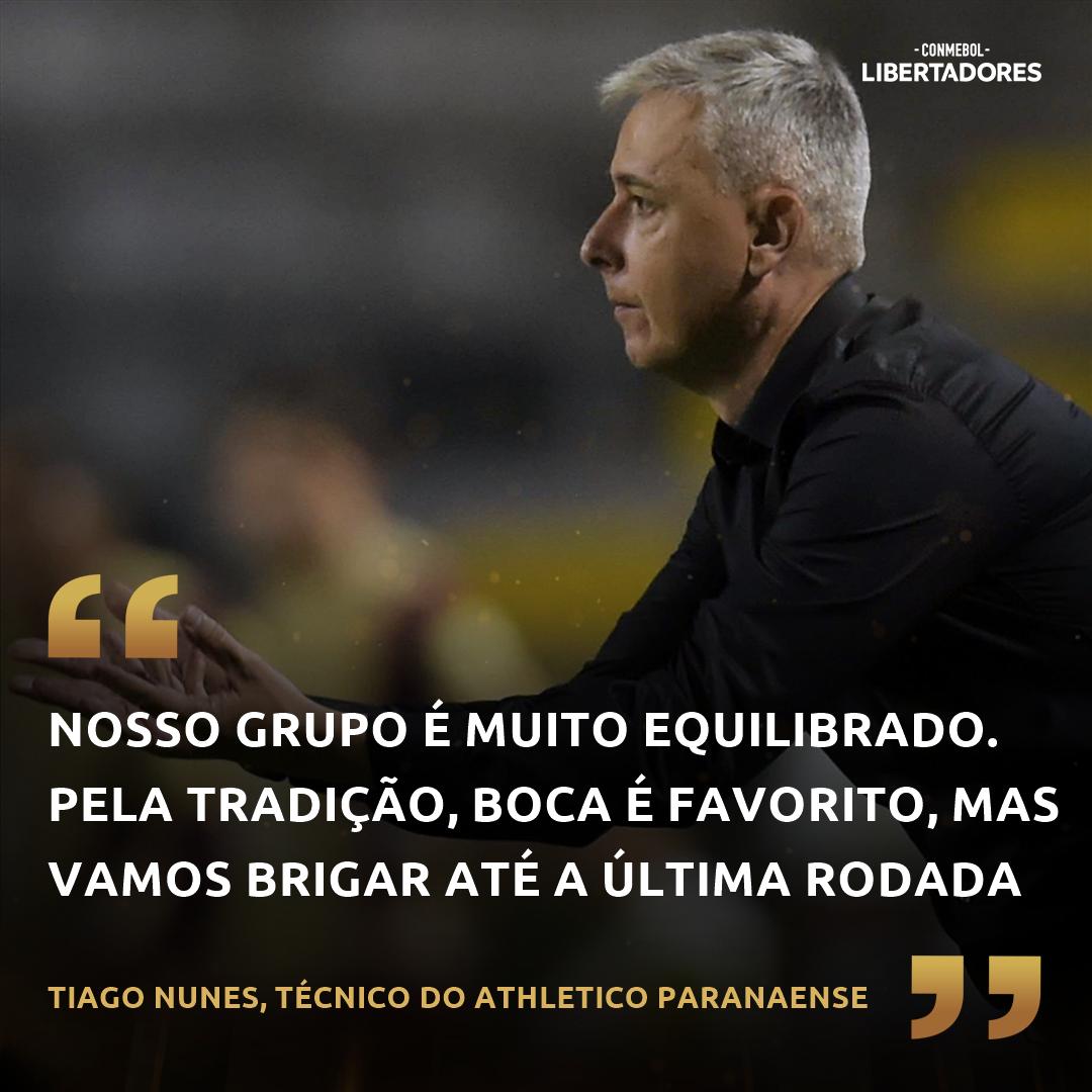 Tiago Nunes - Athletico Paranaense