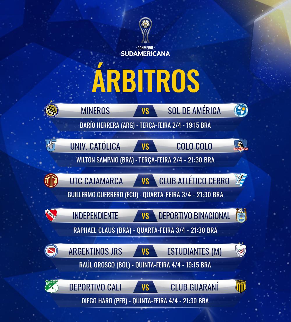 Arbitros Sul-Americana