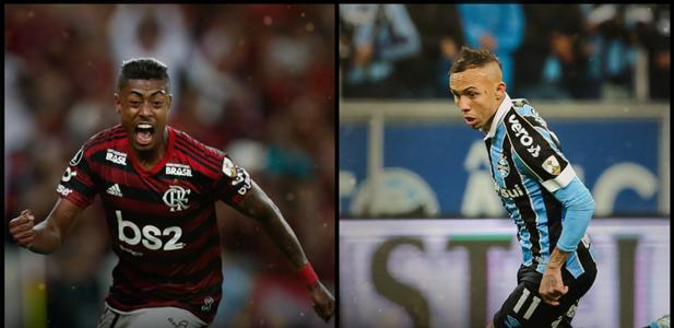 Bruno Henrique x Everton - Libertadores