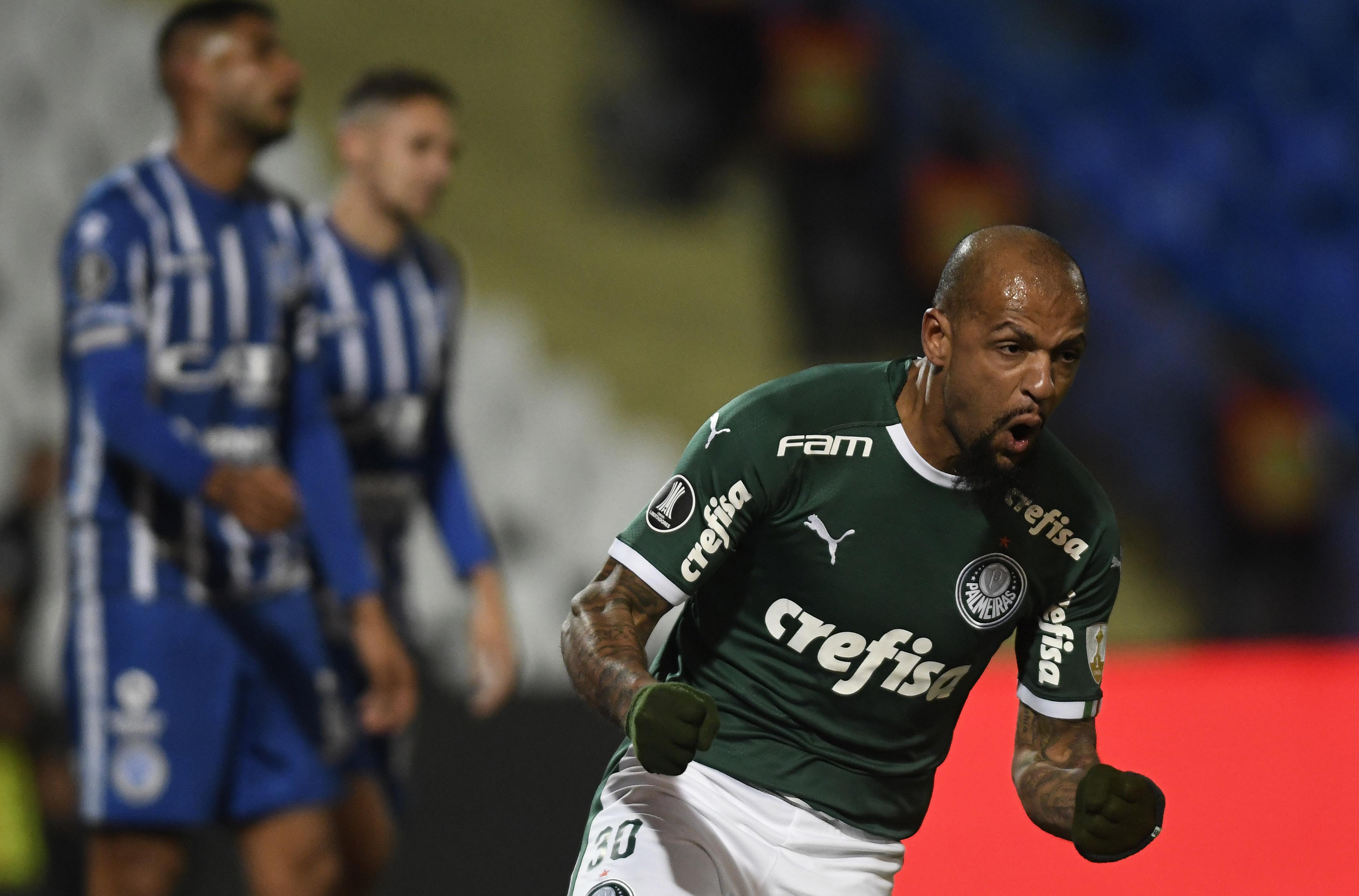 Palmeiras - Felipe Melo - Libertadores