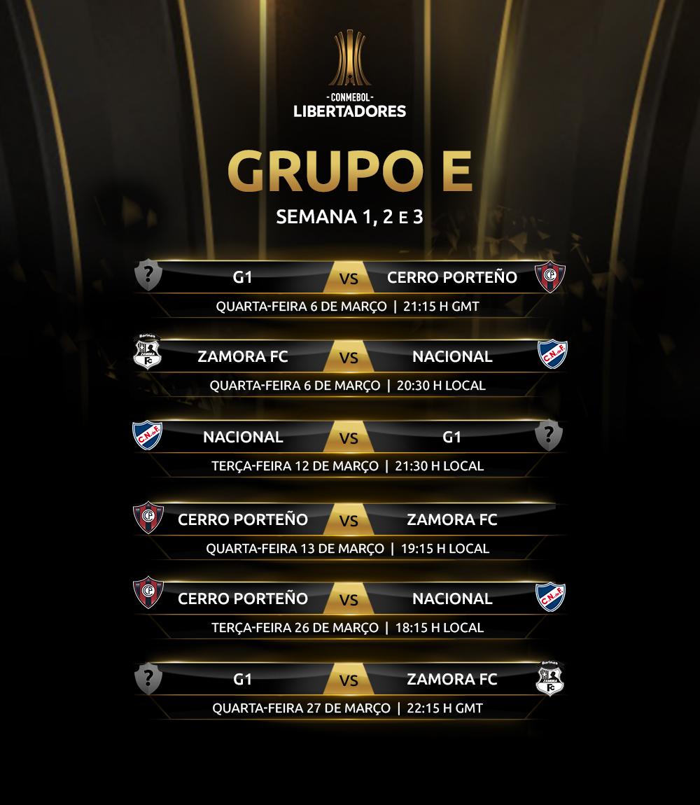 Libertadores 2019 Grupo E ida