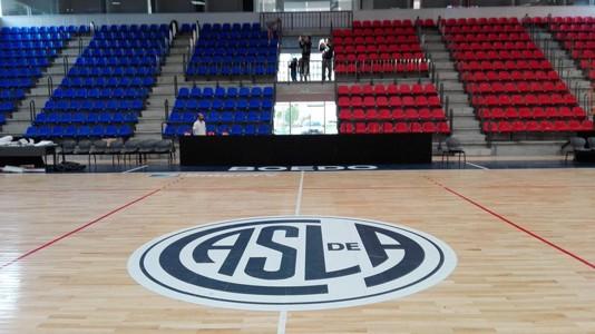 Estadio Polideportivo Roberto Pando San Lorenzo CONMEBOL Libertadores Futsal