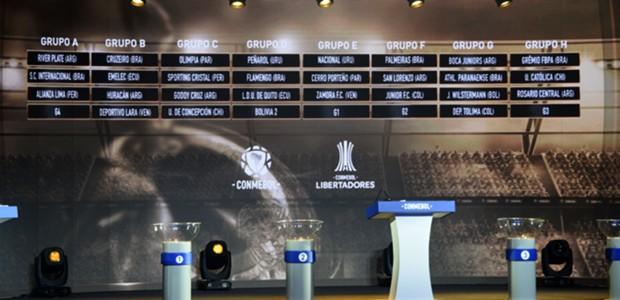 AFP Sorteo CONMEBOL Libertadores 2019