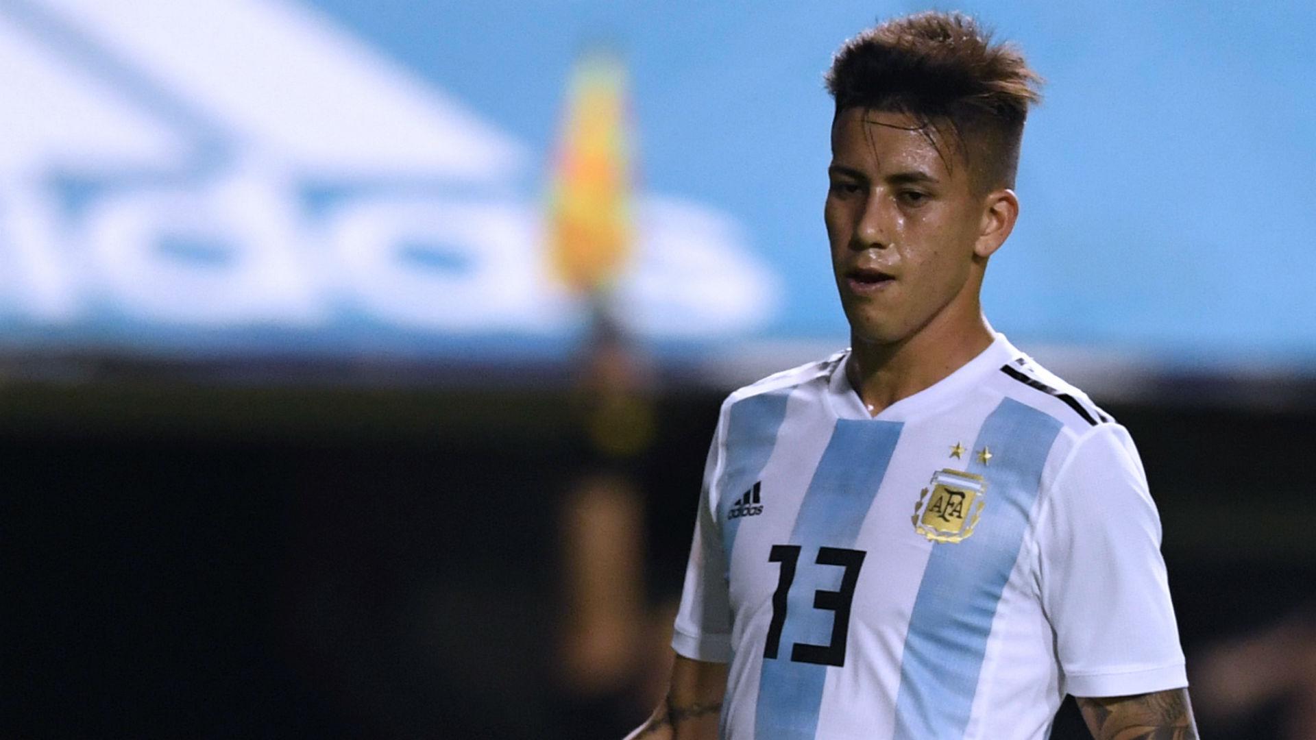 AFP Maximiliano Meza Selección Argentina Independiente