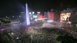 AFP River Plate Boca Juniors CONMEBOL Libertadores 09122018 Obelisco Buenos Aires