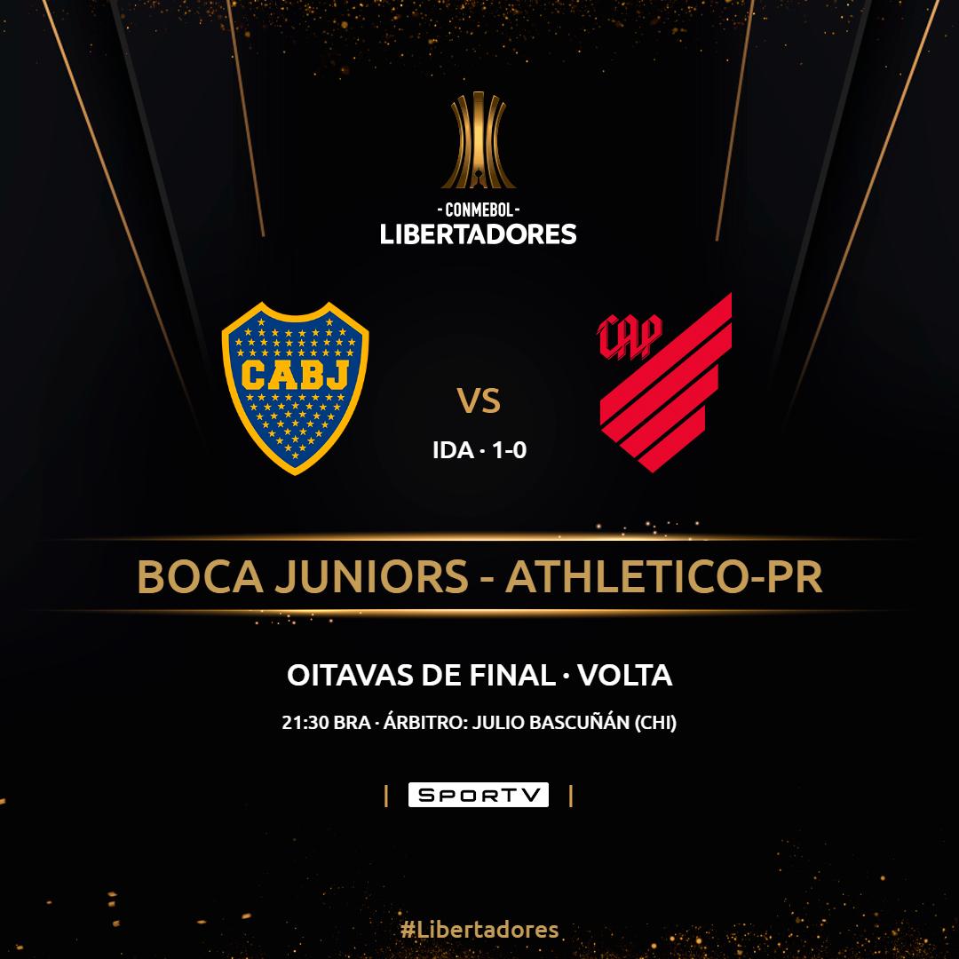 Boca Juniors vs Athletico Paranaense