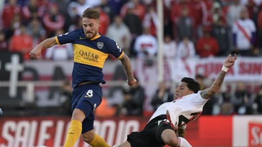 Alexis Mac Allister Boca Juniors Superclasico River Plate