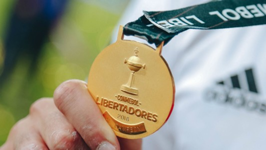 AFP River Plate Boca Juniors CONMEBOL Libertadores 09122018 medal