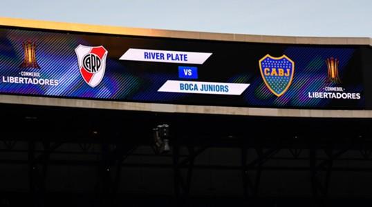 AFP River Boca Copa Libertadores Santiago Bernabéu