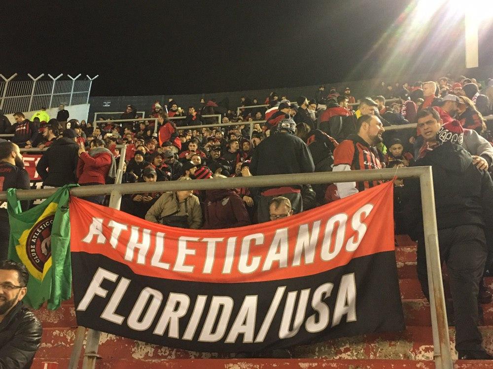 Torcida do Athletico Paranaense