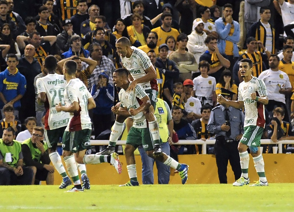 Rosario 3x3 Palmeiras - Libertadores 2016
