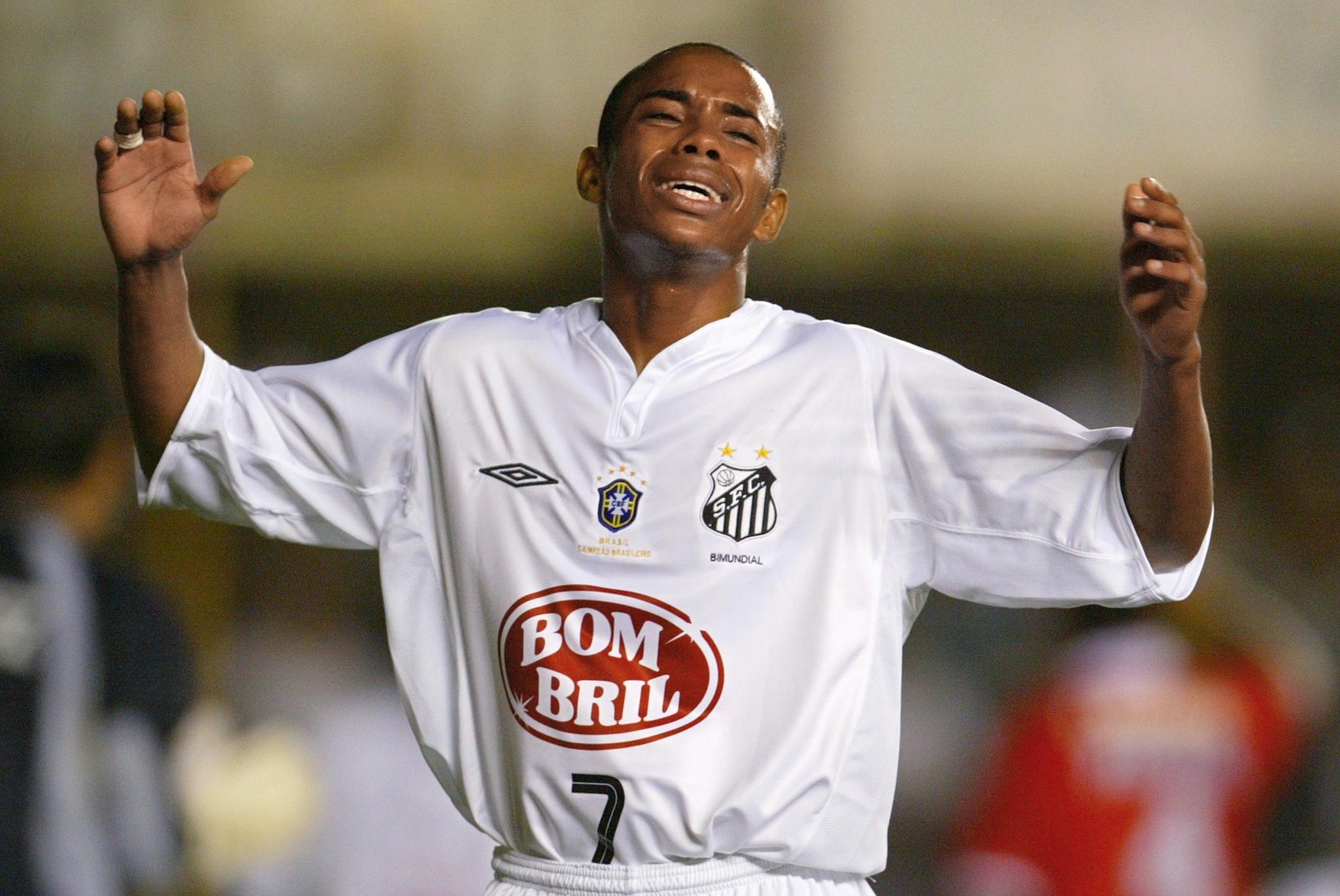 Robinho - Santos - Copa Sudamericana 2003