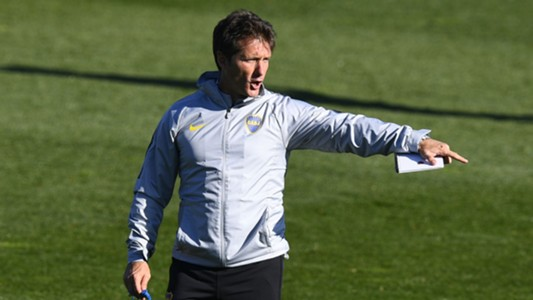 AFP entrenamiento Boca Madrid final Copa Libertadores 2018
